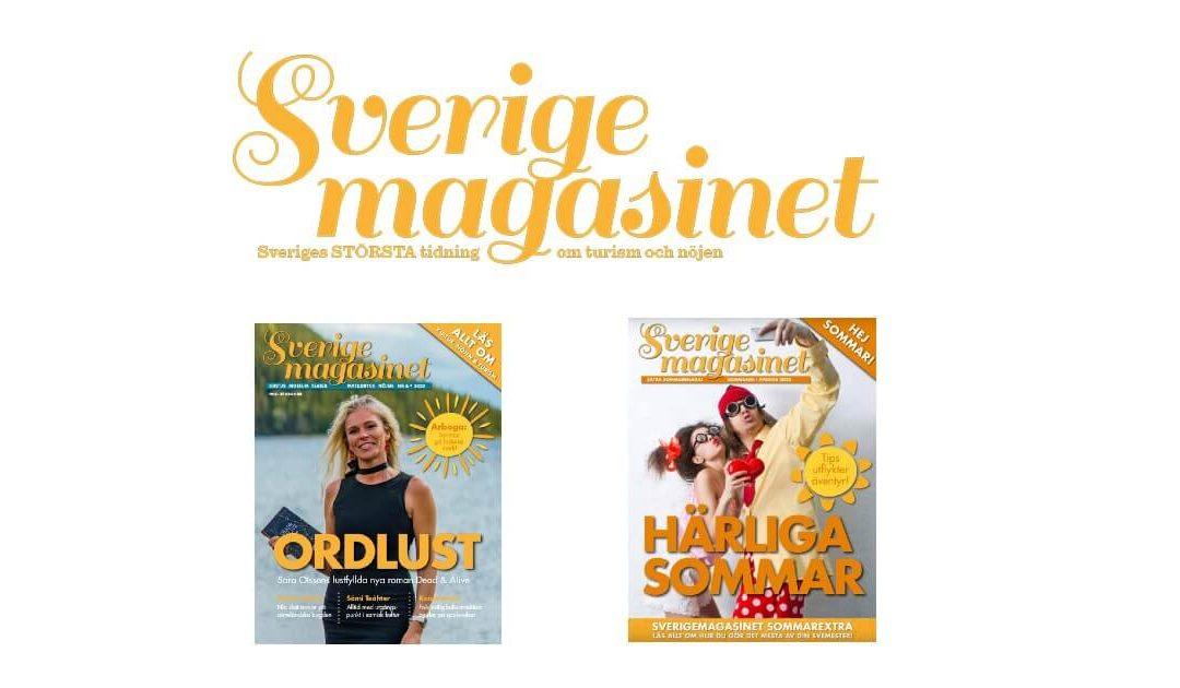 Nytt nummer + sommarextra av Sverigemagasinet ute nu
