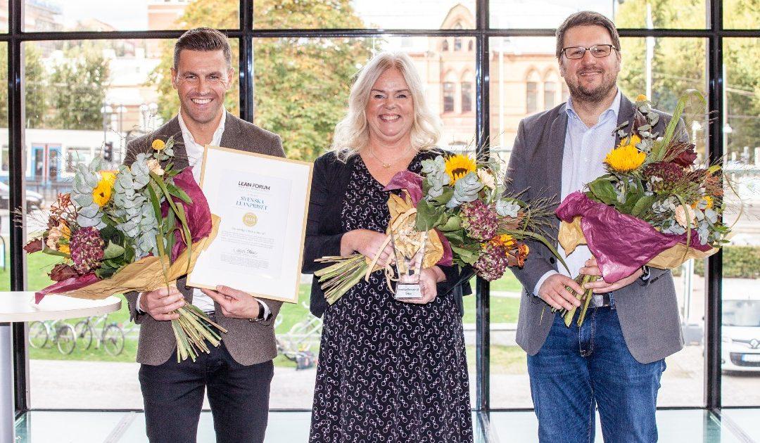 Stoneridge Electronics vinnare av Svenska Leanpriset 2020